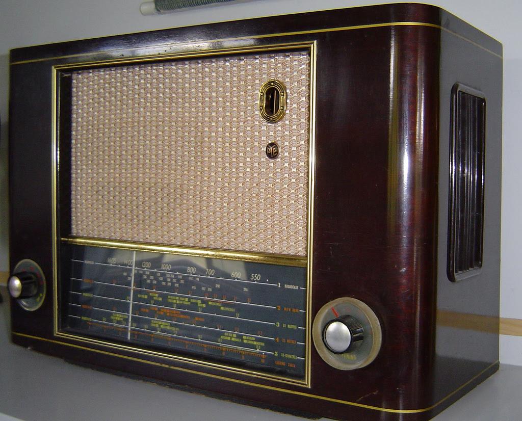 valve radio set