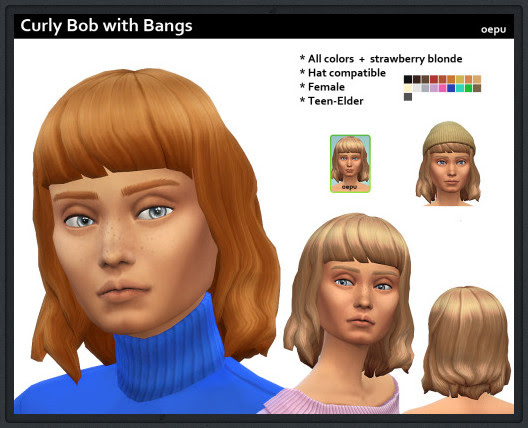 http://oepusims.tumblr.com/post/117438437323/here-is-a-new-curly-bob-with-bangs-for-your-female