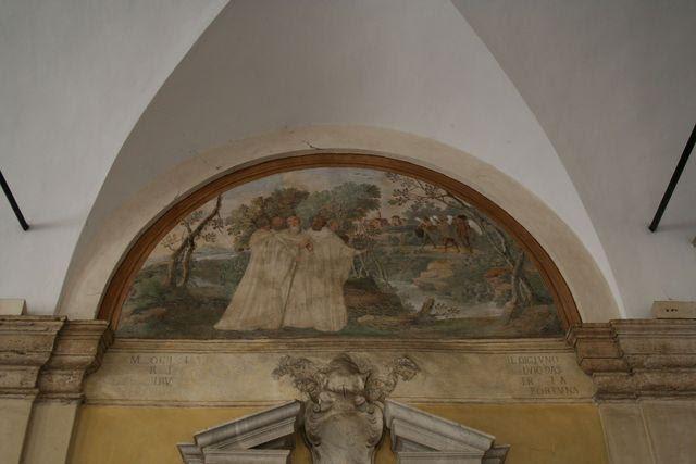 San Gregorio al Celio: il quadriportico