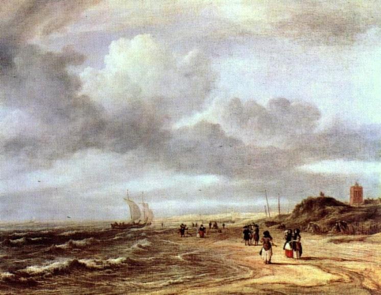 Salomon van Ruydael, Egmond-an-Zee