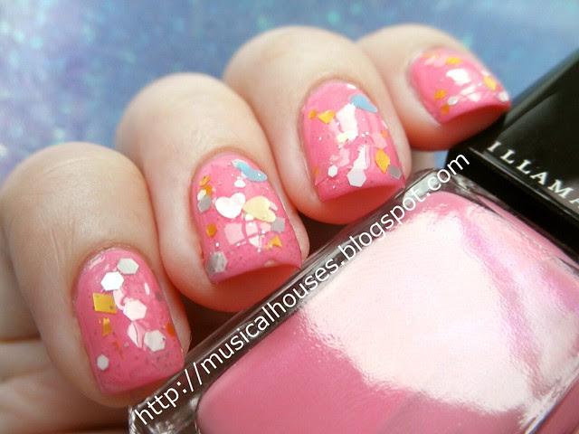 BCA manicure Illamasqua Loella Etude House WH901 1