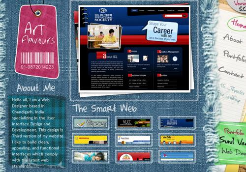 40 diseños web muy creativos - art flavours