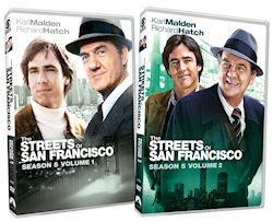 The Streets of San Francisco - Season 5, Volumes 1 and 2