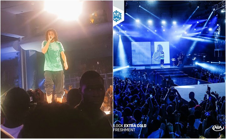 Americans React To J. Cole's Lagos, Nigeria Performance