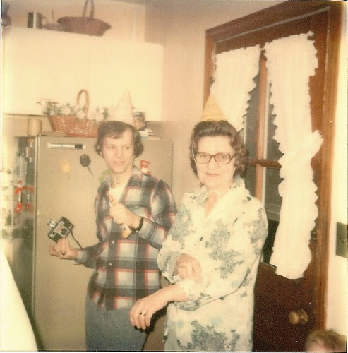 April 1977 Mom turns 50.  Its a Mohole Party by litlesam