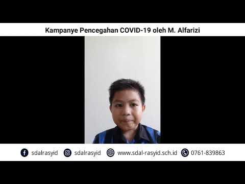 Kampanye Pencegahan COVID 19 oleh M Alfarizi