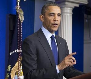 O presidente Barack Obama se pronunciou após a prisão do segundo suspeito do atentado em Boston (Foto: Manuel Balce Ceneta/AP)