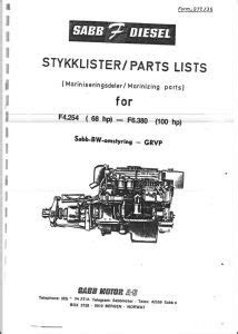 Ford Diesel Engine Manuals - MARINE DIESEL BASICS