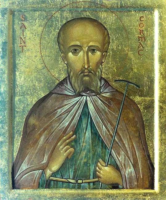 ST. CORMAC, An abbot in Ireland