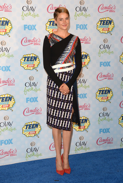 Shailene Woodley - Teen Choice Awards Press Room