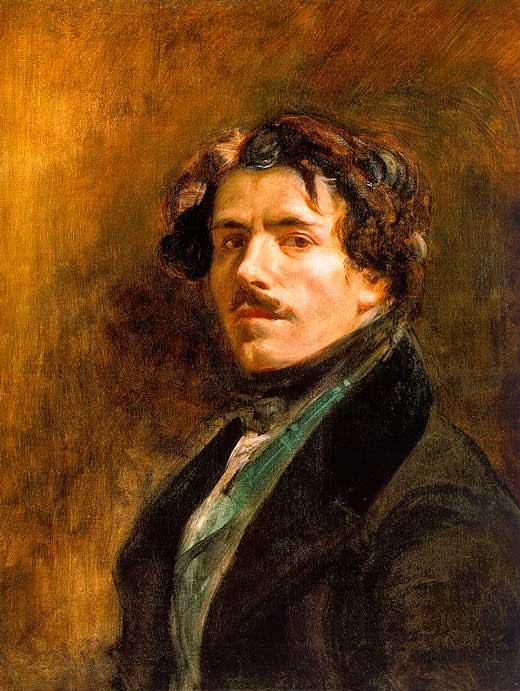 Autorretrato Delacroix