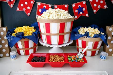 Fourth of July Popcorn Bar   Eighteen25
