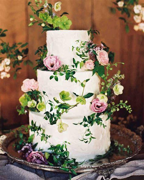 62 Fresh Floral Wedding Cakes   Martha Stewart Weddings