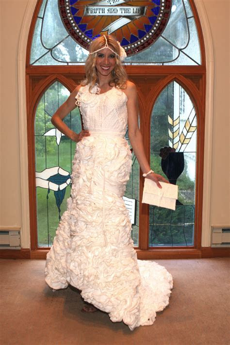The Toilet Paper Wedding Dress Contest
