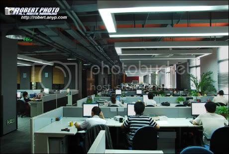 带大家参观网易广州公司