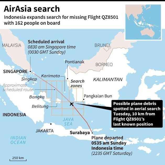 BIBLE Lifestyle Blog: Missing Jet likely found. Rescuers start ...
