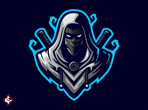 royalty  assassin ninja mascot logo template