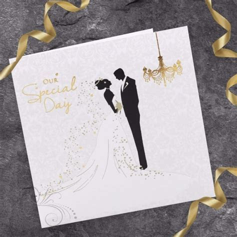 Bride & Groom Wedding Invitation   Paper Themes Wedding