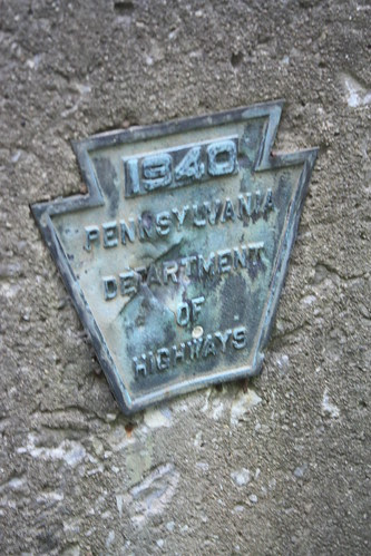1940 PA Dept. of Highways - Bridge Plate