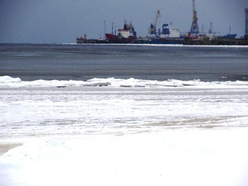 Tallinn Winter Hafen