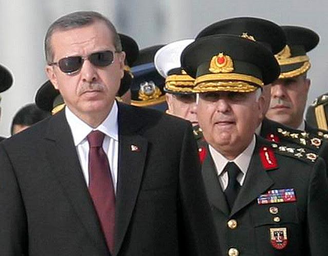 Νέο πλήγμα κατά του στρατεύματος από τον Ερντογάν