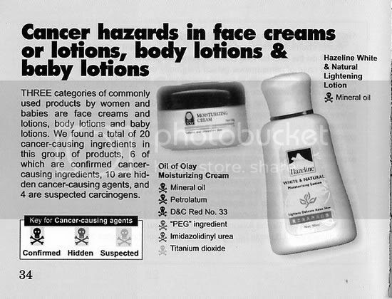facial wash yang cancer