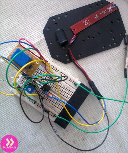 tiny bot initial test
