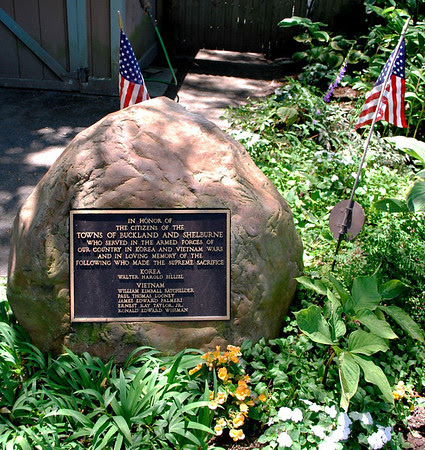 Korea and Vietnam War Memorial - Shelburne Falls