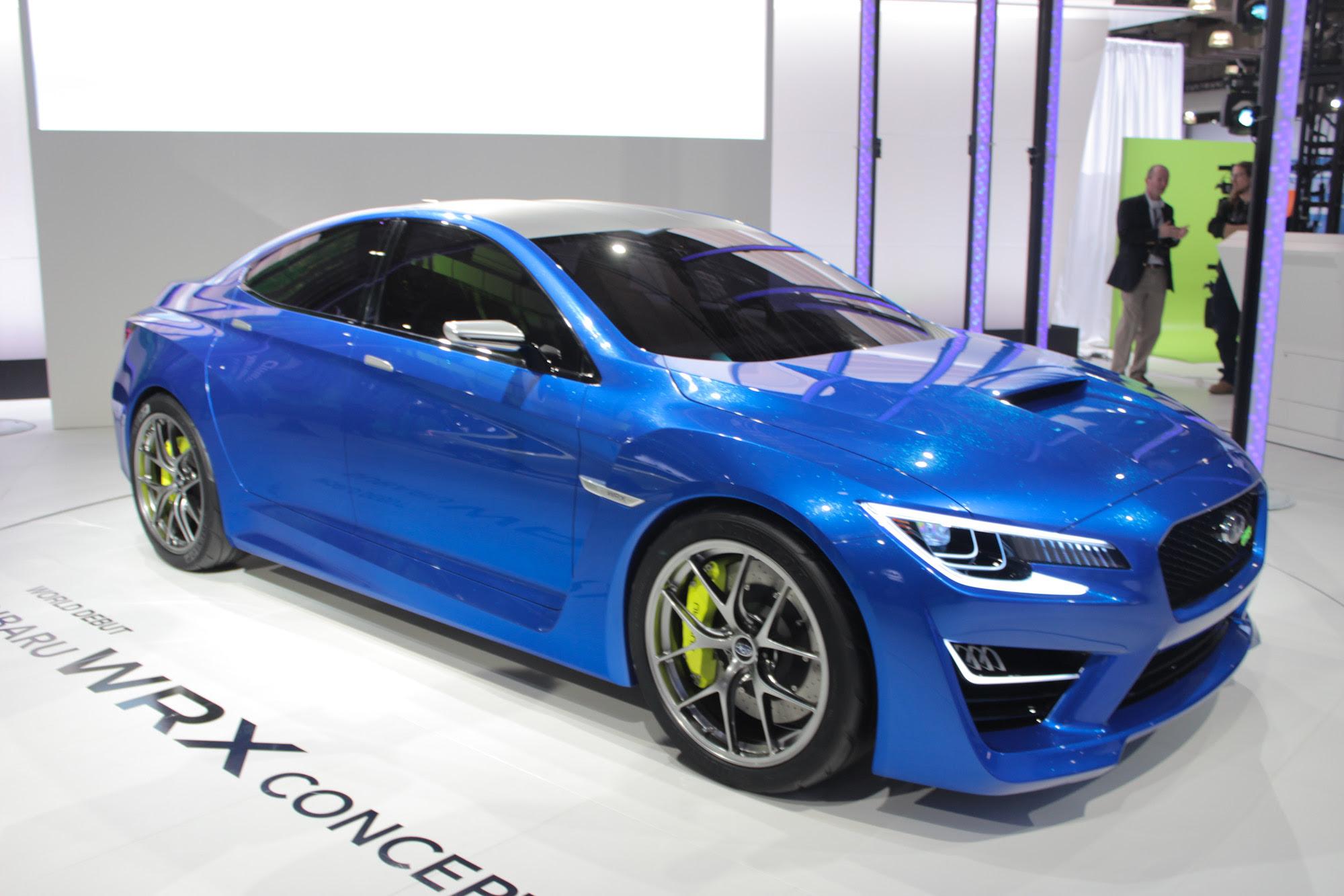 Subaru WRX Concept Video Preview: New York Auto Show