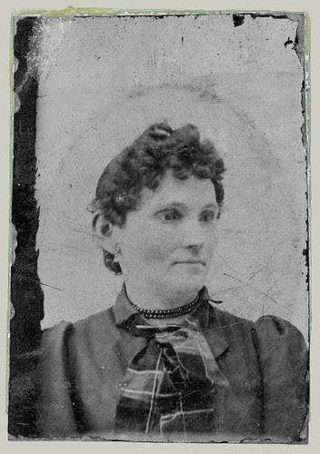 Head and shoulder portrait woman
