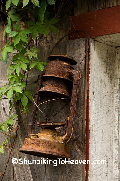 Antique Lantern, Rabbit Hash, Boone County, Kentucky