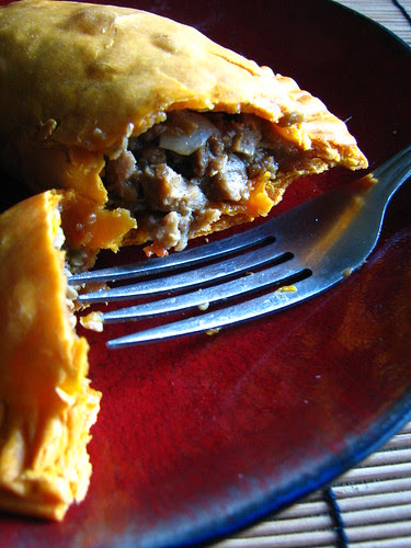 Vegetarian Jamaican Beef Patties