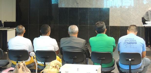Julgamento dos acusados de matar advogado Manoel Mattos acontece no Recife. (Foto: Luna Markman / G1)