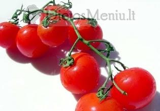 Pomidoras Raudonas Vyšninis Dietos Meniu Receptai Dietos