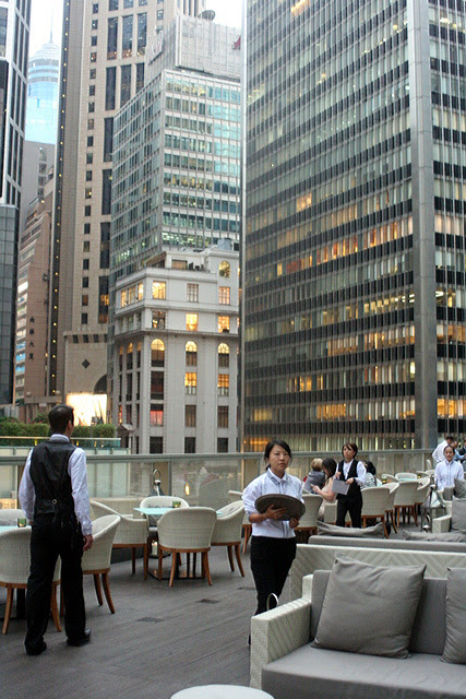Armani/Prive is one of the latest bars in Central Hong Kong
