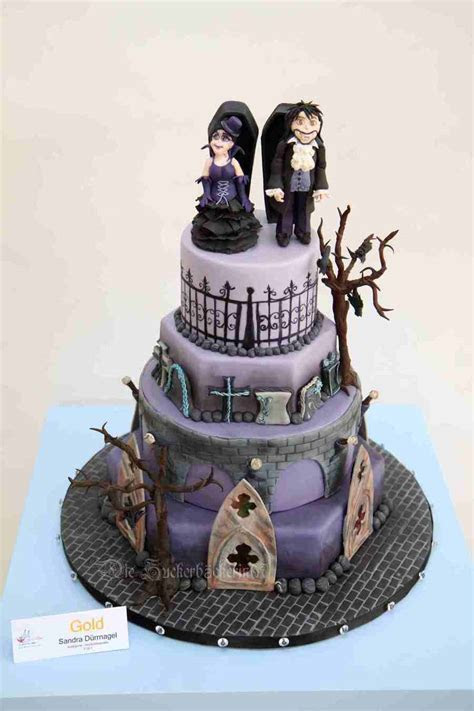 My Vampire Gothic Wedding Cake I Won On The Cake Cologne A