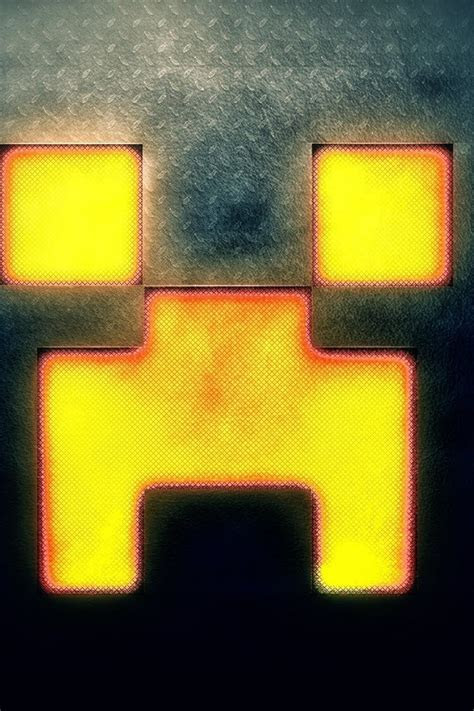 minecraft creeper face wallpaper allwallpaperin