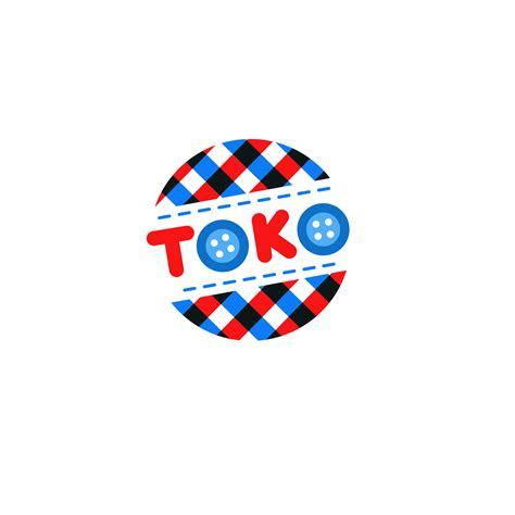 toko fabric toys logo design toko medziaginiu zaislu