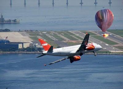 Resultado de imagem para balões aviação