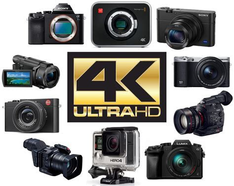 The Top 10 Best 4K Video Cameras on Earh   The Wire Realm