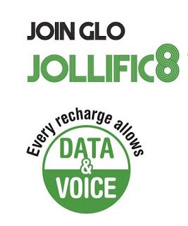 new Glo Tariff Plan that offers 800% Bonus on Each Recharge :Glo jollific8
