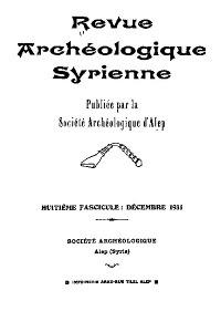 Revue Cover