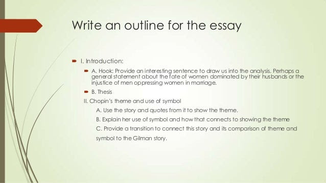 how to write a hook for an essay outline