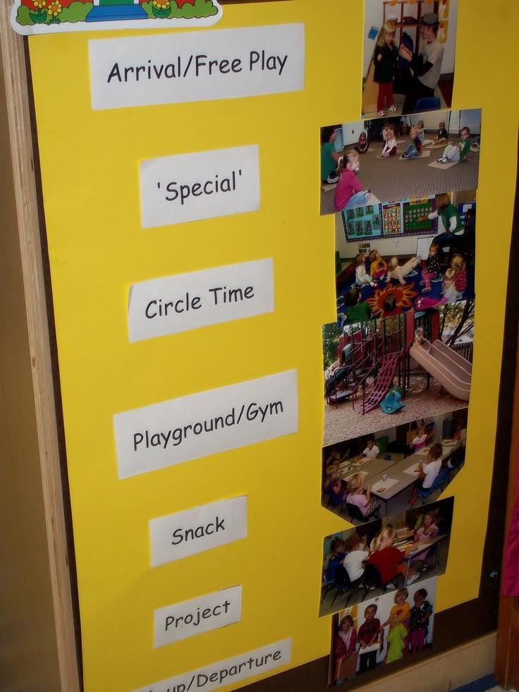 Preschool Visual Daily Schedule