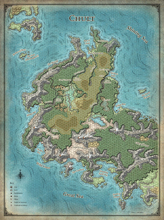 Image result for tomb of annihilation map