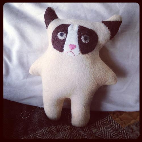 Grumpy cat plush by megan_n_smith_99