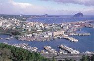 Port Seoguipo, Jeju island, Korea