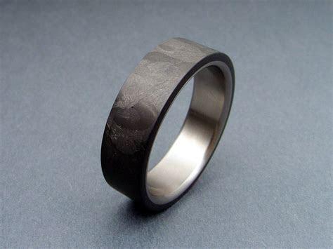 Carbon Fiber and Titanium ring   Jewelery   Pinterest