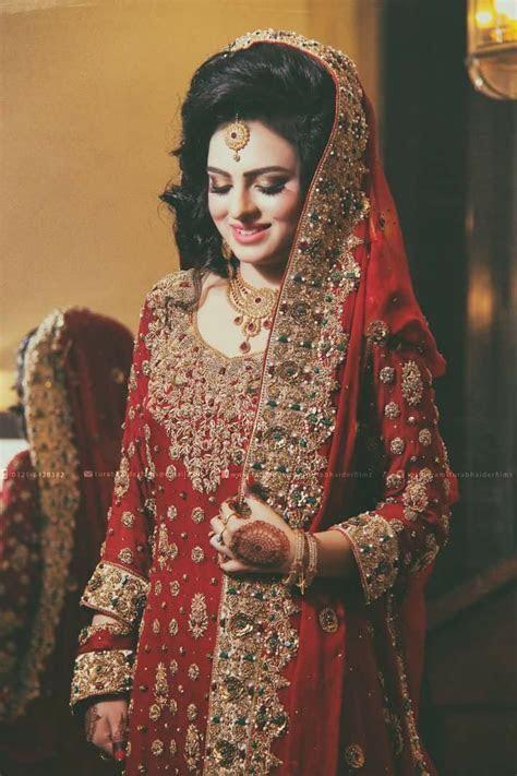Pin by H. I on Barat Brides   Bridal outfits, Pakistani