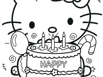 personalized happy birthday coloring pages at getcolorings